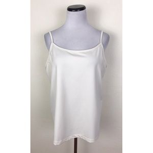 Lane Bryant Cream Camisole Tank Top 18/20W